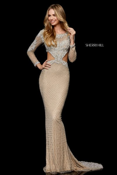 e2ddae9766402 Nude Prom Dresses and Formal Gowns