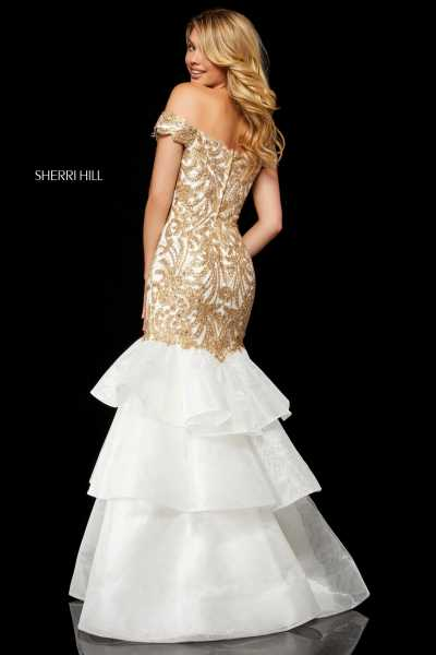 Sherri Hill 52347 Off The Shoulder picture 1