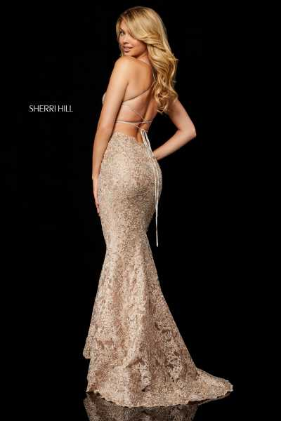 Sherri Hill 52348 Has Straps picture 1