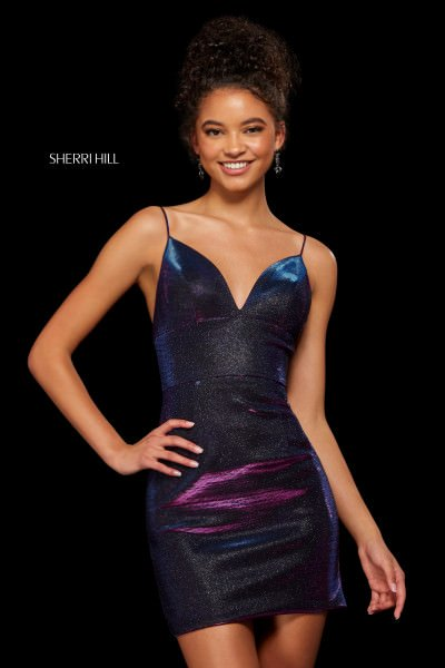 Sherri Hill 52354 Has Straps picture 1