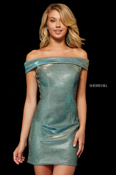 Sherri Hill 52355 Off The Shoulder picture 1
