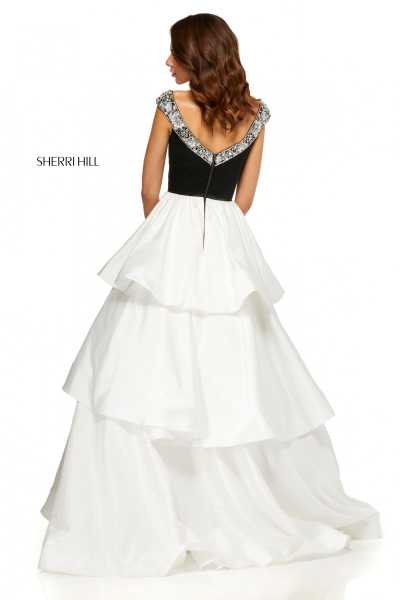 Sherri Hill 52427 Off The Shoulder picture 1