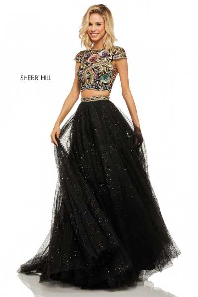 Sherri Hill 52435 High Neck picture 1