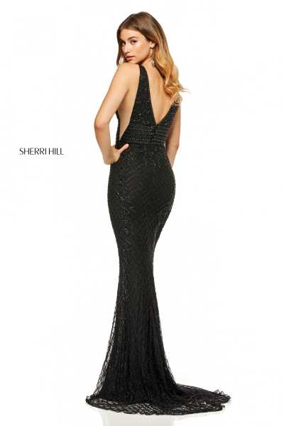 Sherri Hill 52453 V-Shape picture 1
