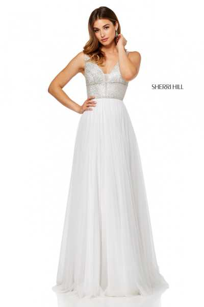 Sherri Hill 52463 V-Shape picture 1