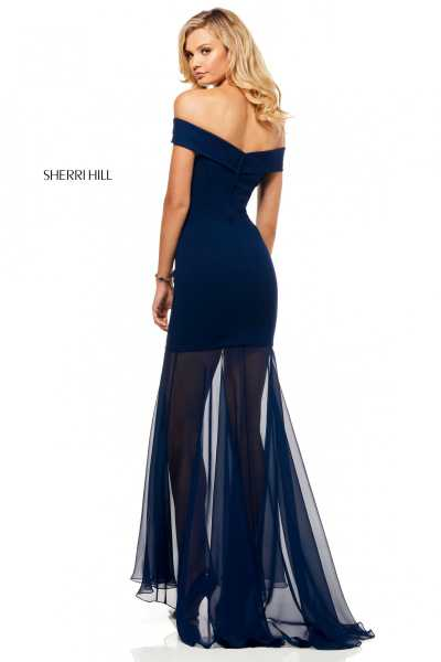 Sherri Hill 52482 Off The Shoulder picture 1