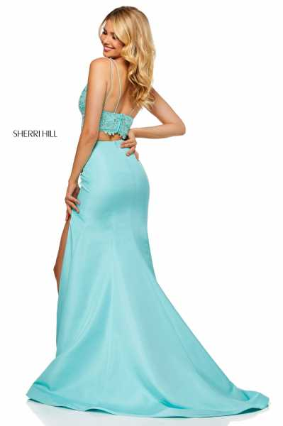 Sherri Hill 52493 Has Straps picture 1
