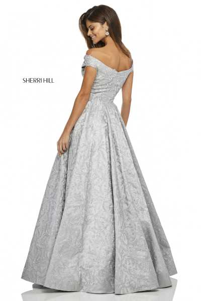 Sherri Hill 52507 Off The Shoulder picture 1