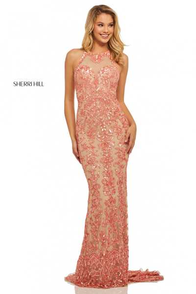 Sherri Hill 52527 High Neck picture 1