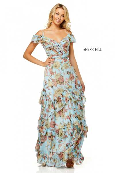 Sherri Hill 52533 Off The Shoulder picture 1