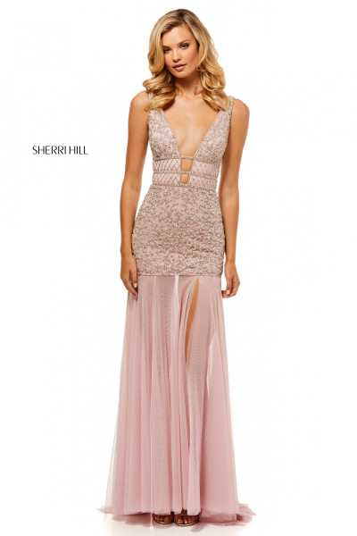 Sherri Hill 52536 V-Shape picture 1