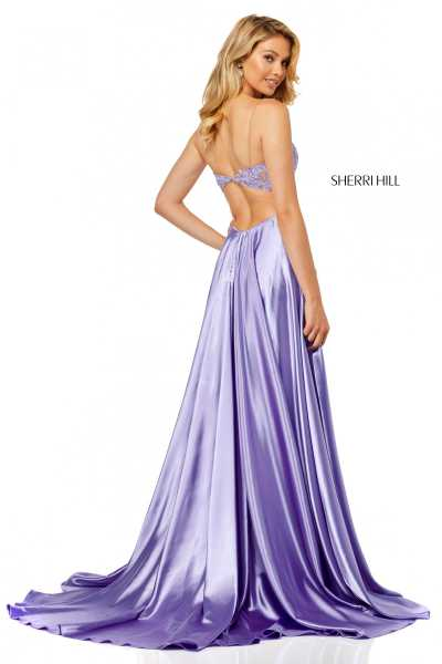 Sherri Hill 52538 Has Straps picture 1