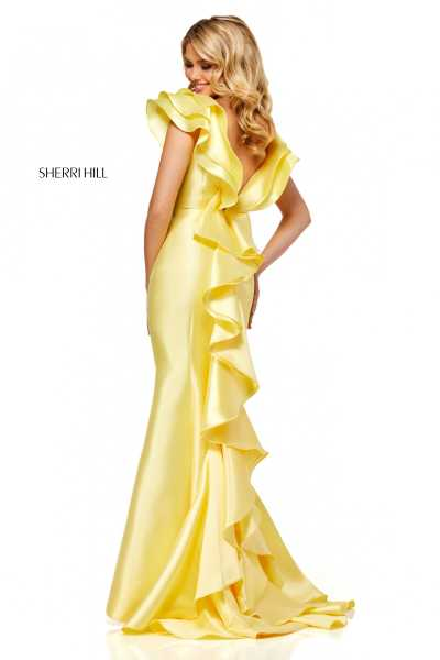 Sherri Hill 52547 Has Straps picture 1