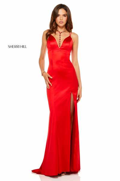 Sherri Hill 52548 Has Straps picture 1