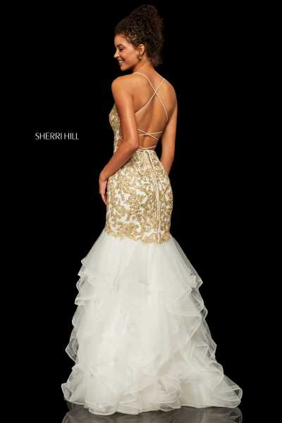 Sherri Hill 52560 Has Straps picture 1