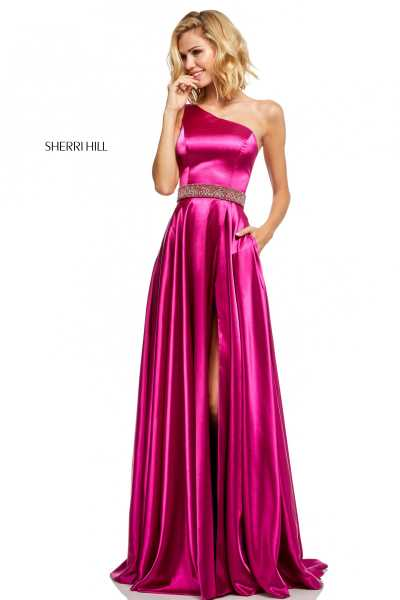 Sherri Hill 52565 One Shoulder picture 1