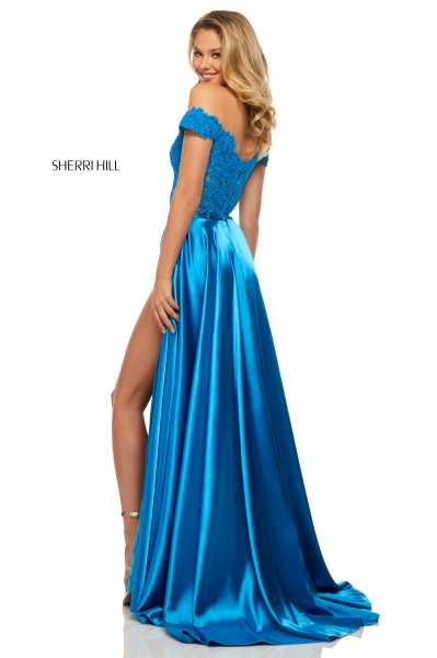 Sherri Hill 52567 Off The Shoulder picture 1