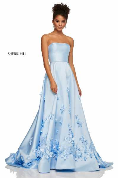 Sherri Hill 52582 Strapless picture 1