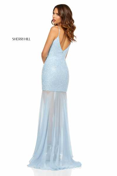 Sherri Hill 52592 V-Shape picture 1