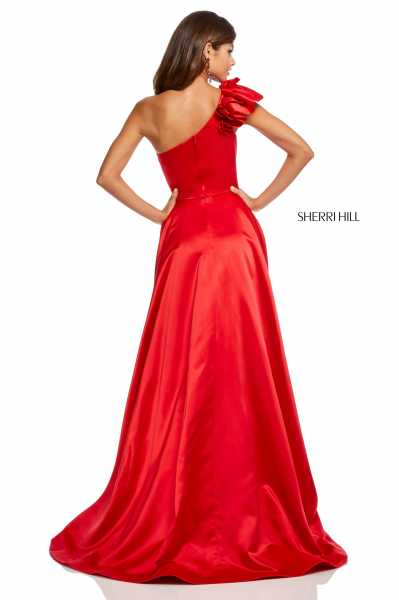 Sherri Hill 52619 One Shoulder picture 1