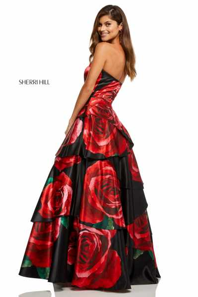 Sherri Hill 52624 Strapless picture 1