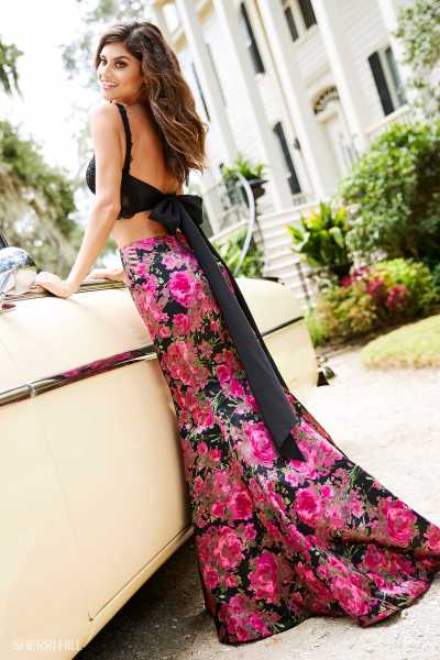 Sherri Hill 52628 Has Straps picture 1