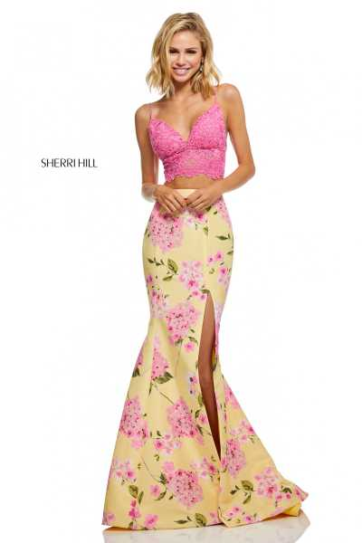 Sherri Hill 52635 Has Straps picture 1