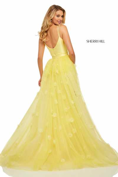 Sherri Hill 52638 Has Straps picture 1