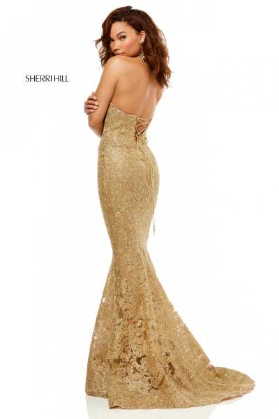 Sherri Hill 52644 High Neck picture 1
