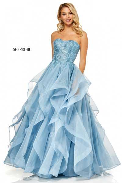 Sherri Hill 52645 Strapless picture 1