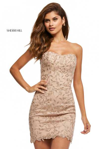 Sherri Hill 52648 Strapless picture 1