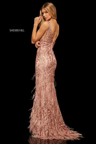 Sherri Hill 52649 V-Shape picture 1