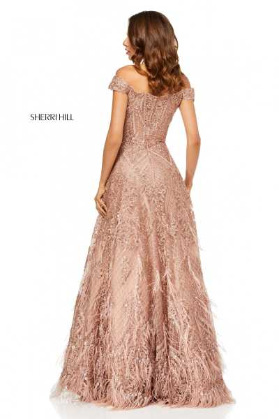 Sherri Hill 52650 Off The Shoulder picture 1