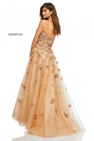 Sherri Hill 52651 Strapless and Sweetheart picture 1
