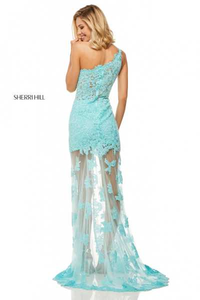 Sherri Hill 52656 One Shoulder picture 1