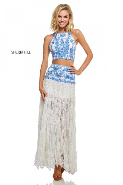 Sherri Hill 52671 Two Piece picture 2