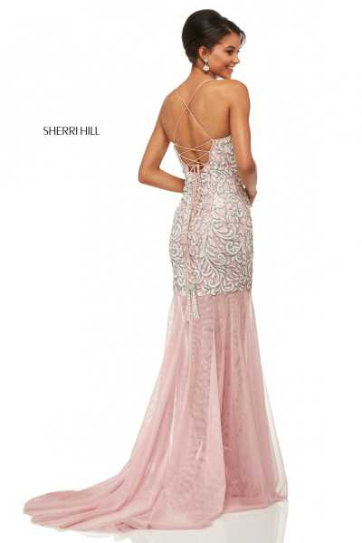 Sherri Hill 52678 Has Straps picture 1
