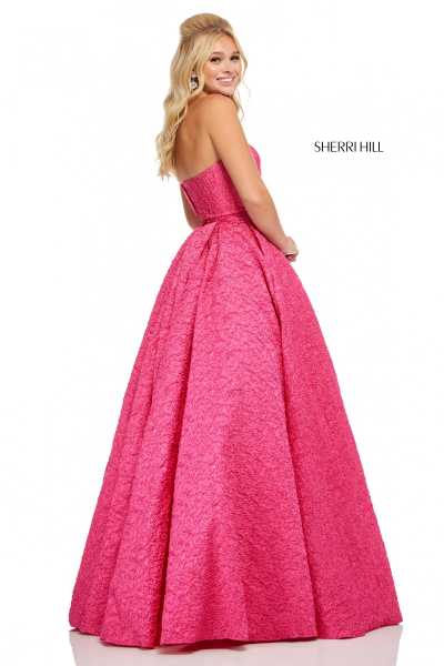 Sherri Hill 52681 Strapless picture 1