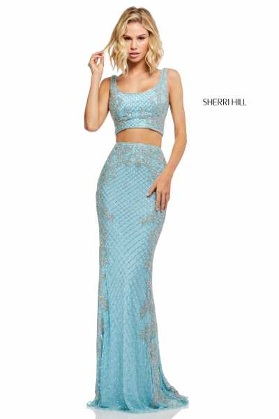 Sherri Hill 52686 Fitted and Two Piece picture 2