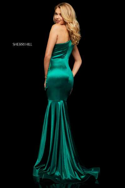 Sherri Hill 52700 One Shoulder picture 1