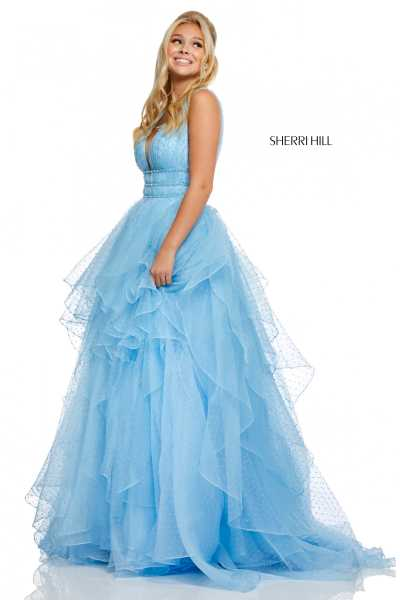 Sherri Hill 52710 Has Straps picture 1