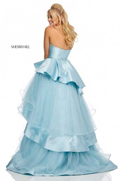 Sherri Hill 52718 Strapless and Sweetheart picture 1