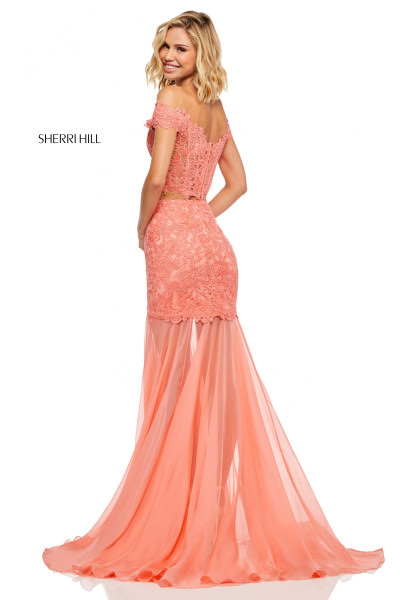 785ad225e0 Orange Prom Dresses | Formal Gowns, Mermaid, High Low, Lace