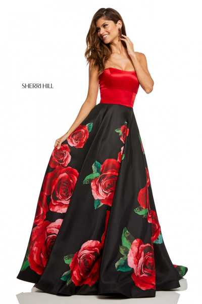 Sherri Hill 52722 Strapless picture 1
