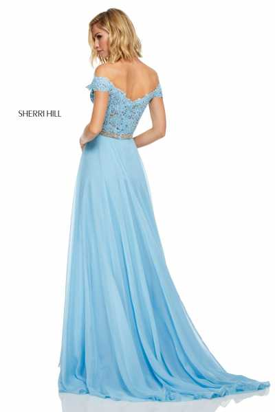 Sherri Hill 52729 Off The Shoulder picture 1