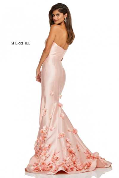 Sherri Hill 52744 Strapless picture 1