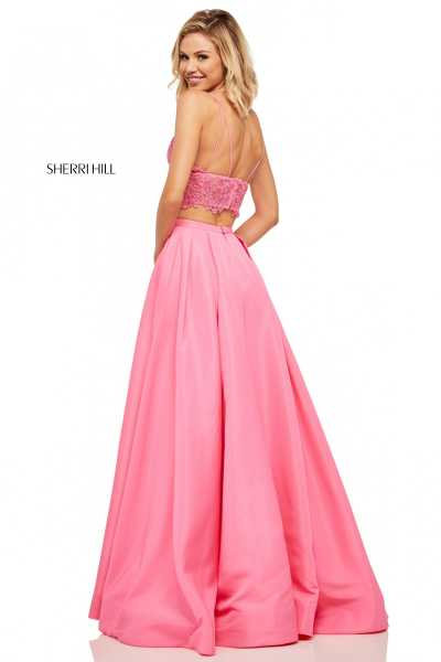 Sherri Hill 52754 Has Straps, Sweetheart and V-Shape picture 1