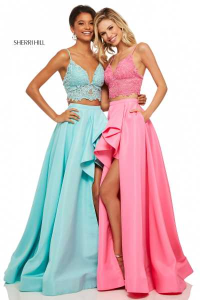 Sherri Hill 52754 High-Low picture 3