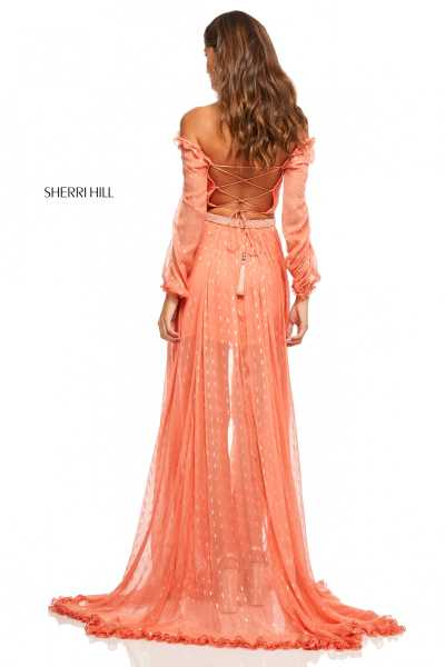 Sherri Hill 52756 Off The Shoulder picture 1