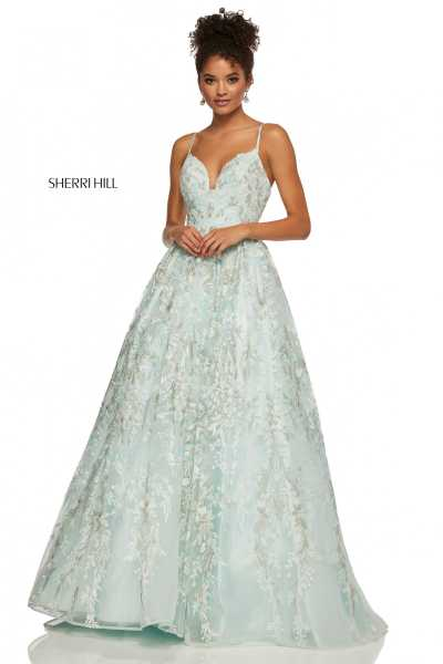 Sherri Hill 52759 Has Straps picture 1